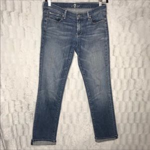 7FAM | 7 For All Mankind Straight Leg Jeans